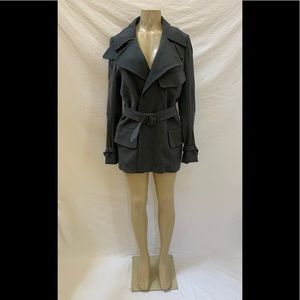 Maison Margiela Size IT 46/US 10 Gray Trench Coat